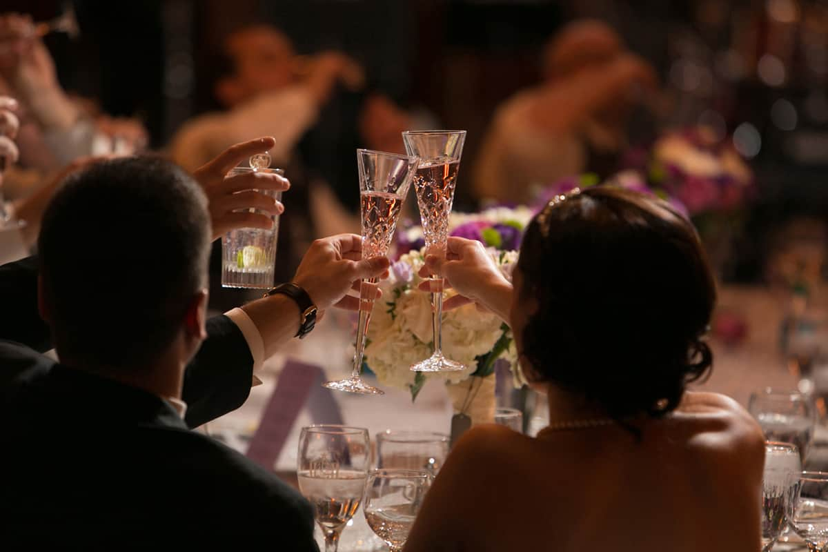 wedding reception toast: union club